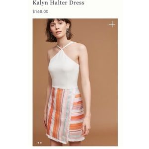 Anthropologie Kalyn halter dress size 2 petite